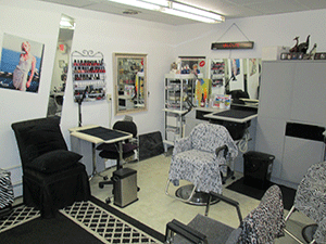Salon Nail Station
