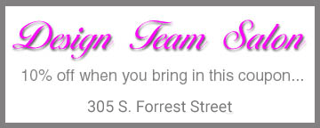 Design Team Salon Coupon